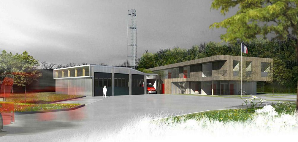 AME | architecture : Concours pour un centre de secours