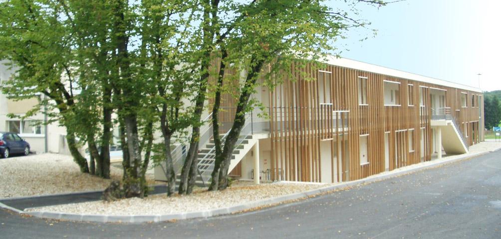 AME | architecture : Construction d'un hôtel de 18 chambres