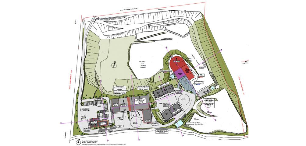 AME | architecture : Requalification d'un Centre de tri Véolia