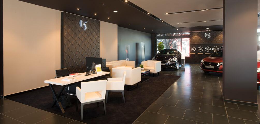 AME | architecture : Restructuration d'une succursale Citroën