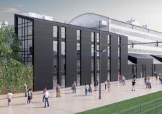 Construction d'un bâtiment tertiaire à Tours