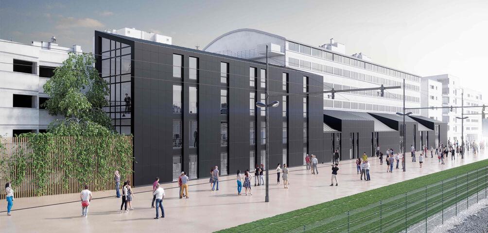 AME | architecture : Construction d'un bâtiment tertiaire à Tours