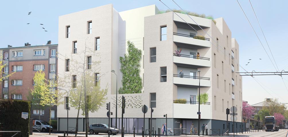 Construction d'un ensemble de logements destinés à l'accession sociale à la propriété et d'une crèche