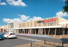 Construction d'un hypermarché