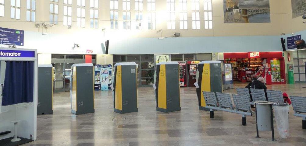 AME | architecture : Désamiantage d'un gare