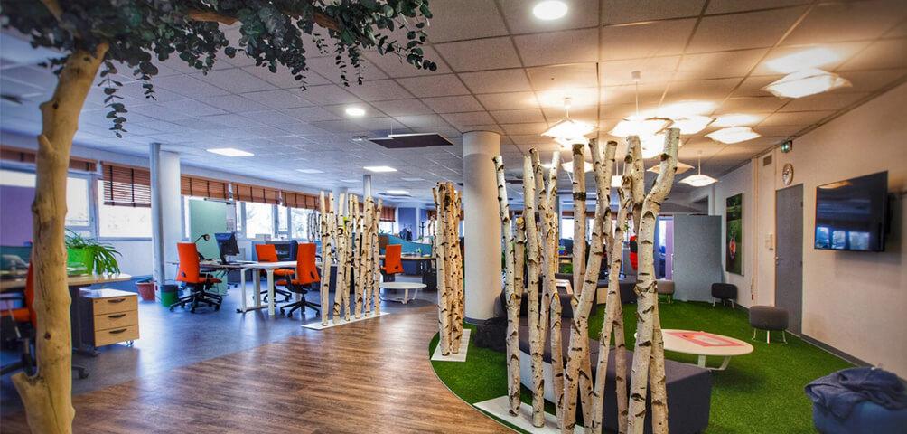 AME   architecture : Réaménagement de 3 plateaux de bureaux