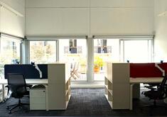 Réaménagement de bureaux à la fondation EDF